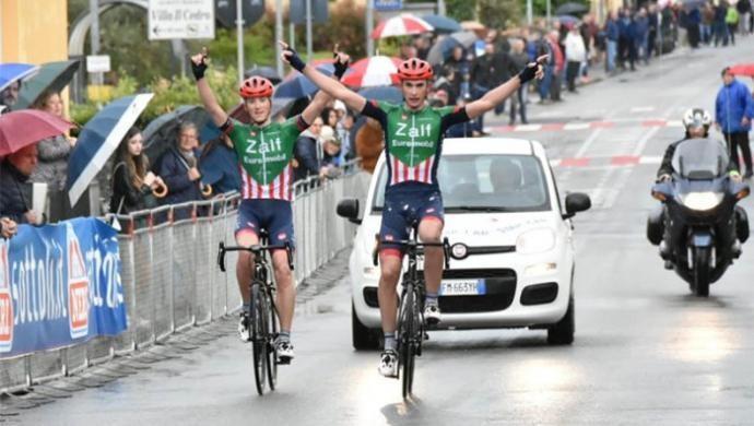 Ciclismo: ancora una doppietta a Montanino per la Zalf