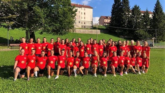 Giorgione Pallavolo: inizio di stagione in ritiro per le giovanili