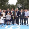 Inaugurato il Playground '52, il campo da basket di Via delle Querce