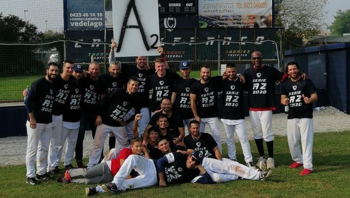 Baseball: i Dragons conquistano la promozione in Serie A2!