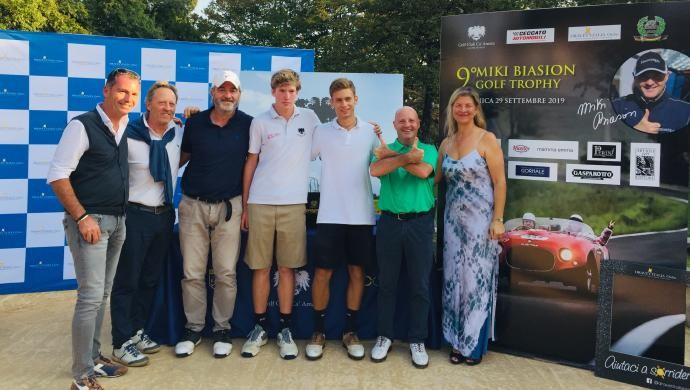 Fior Lorenzo si aggiudica il 9° Miki Biasion Golf Trophy