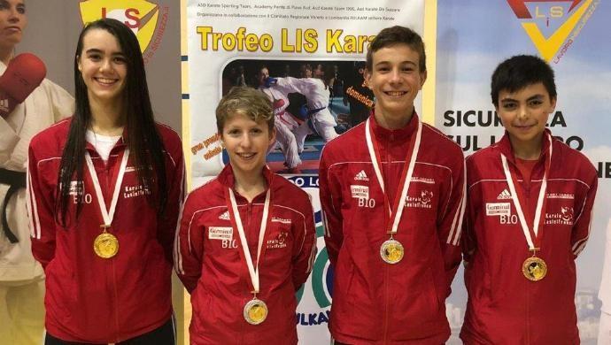 La Sport Target al trofeo Lis a Mantova: ancora tante medaglie per questi giovani agonisti