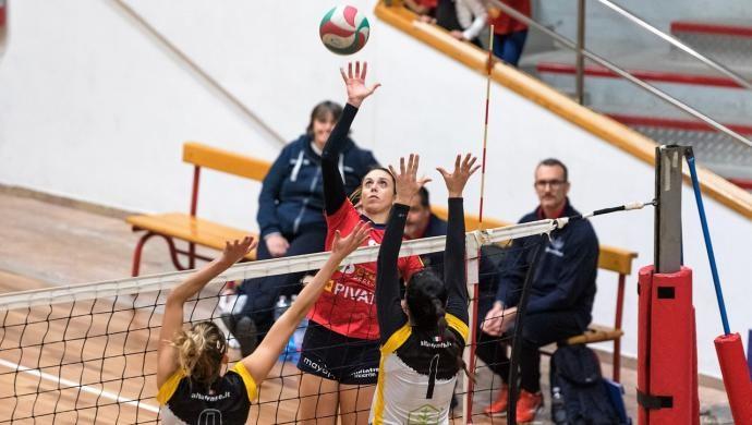 Pallavolo: 3 punti e 2° posto a 1 lunghezza per il Giorgione