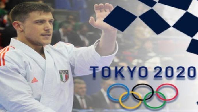 Mattia Busato è ufficialmente atleta olimpico, il karate castellano a Tokyo 2020!