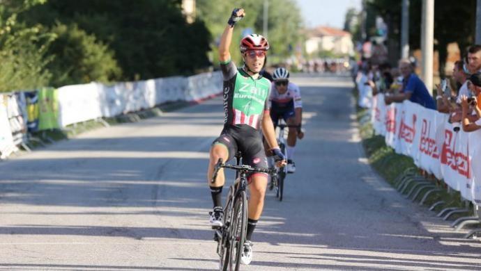 Ciclismo: Luca Colnaghi firma il tris a Fubine per la Zalf